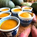 かぼちゃのプリンの分離の原因と二層になってしまうのを防ぐ方法 ゼラチンで作る場合は?