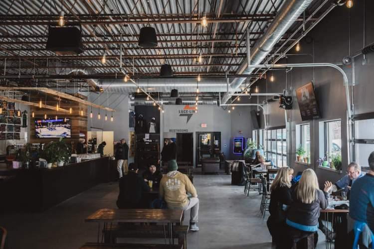 Luce Line Brewing's Minnesota Taproom