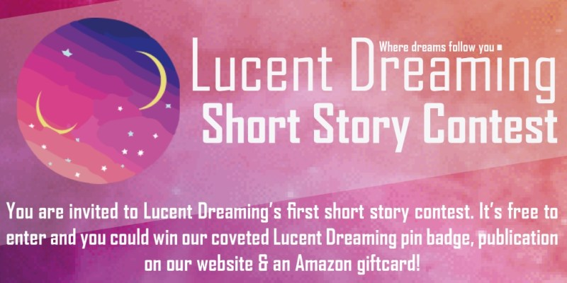 Lucent Dreaming Short Story Contest Header