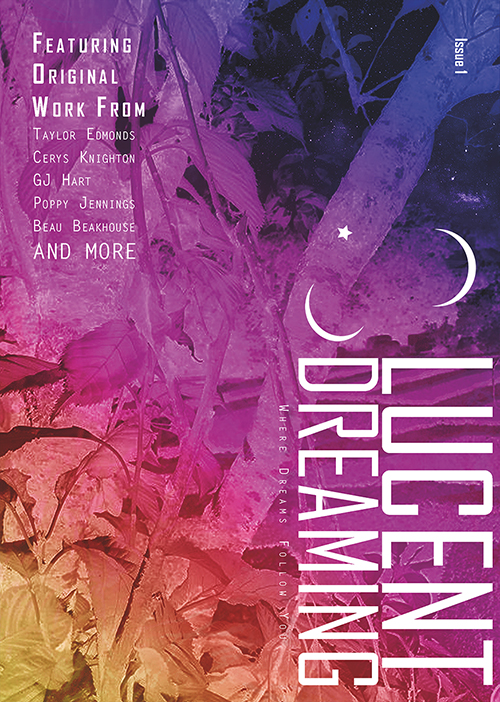 Lucent Dreaming magazine cover for issue 1