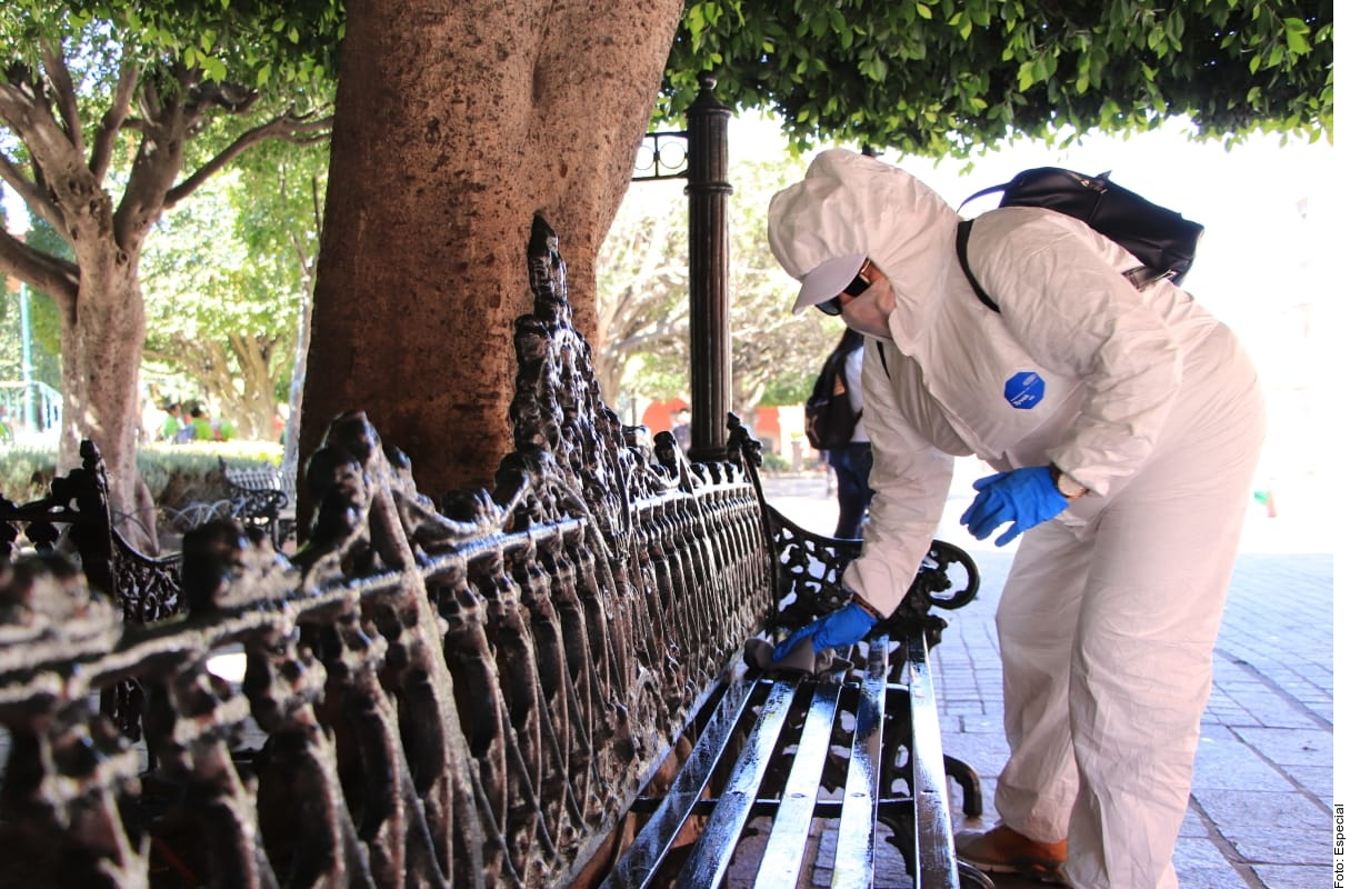 Arma San Miguel de Allende brigadas de desinfección - Luces del ...