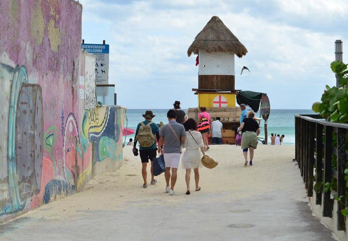 Cerrarán playas y vialidades de Cancún y Playa del Carmen - Luces del Siglo
