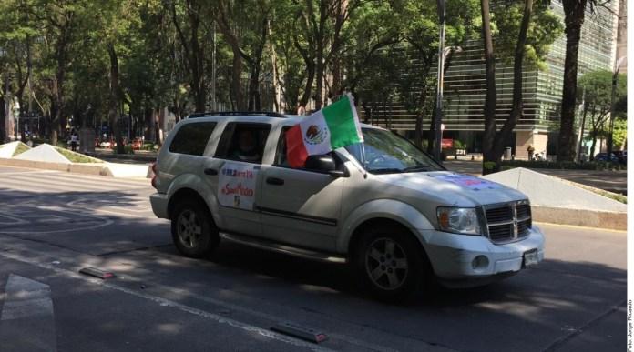 Arman caravana antiAMLO, ahora en CDMX (3)