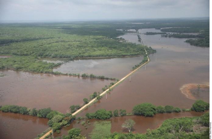 Deterioró Tormenta Cristóbal 350 km de carretera