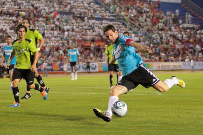 El día que Messi jugó en Cancún