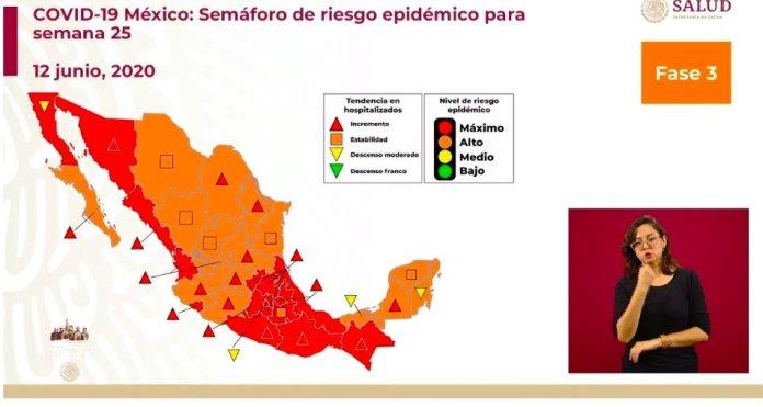 Incongruencia en la definición del semáforo epidemiológico a nivel nacional