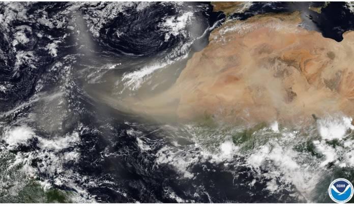 Jueves y viernes, mayor concentración de polvo del Sahara