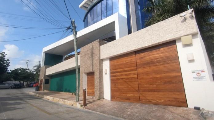 La casa de Florian Tudor, alias el Tiburón, en Cancún.
