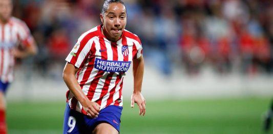 Vuelve Charlyn Corral a entrenar con el Atlético