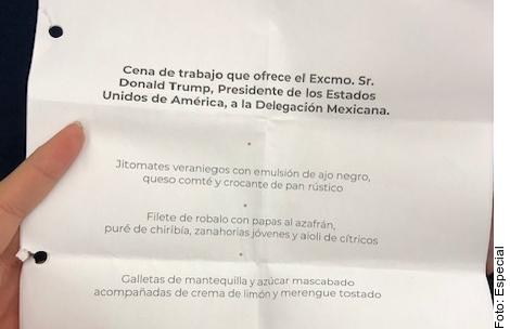Ofrecerá Trump a López Obrador cena estilo mediterráneo