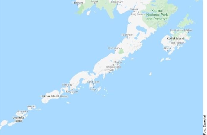 Sacude sismo de 7.8 península de Alaska
