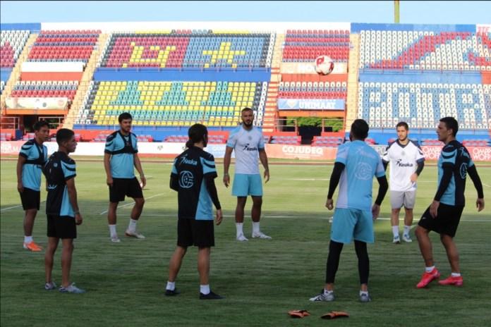 Trabaja Cancún F.C. en el Andrés Q. Roo