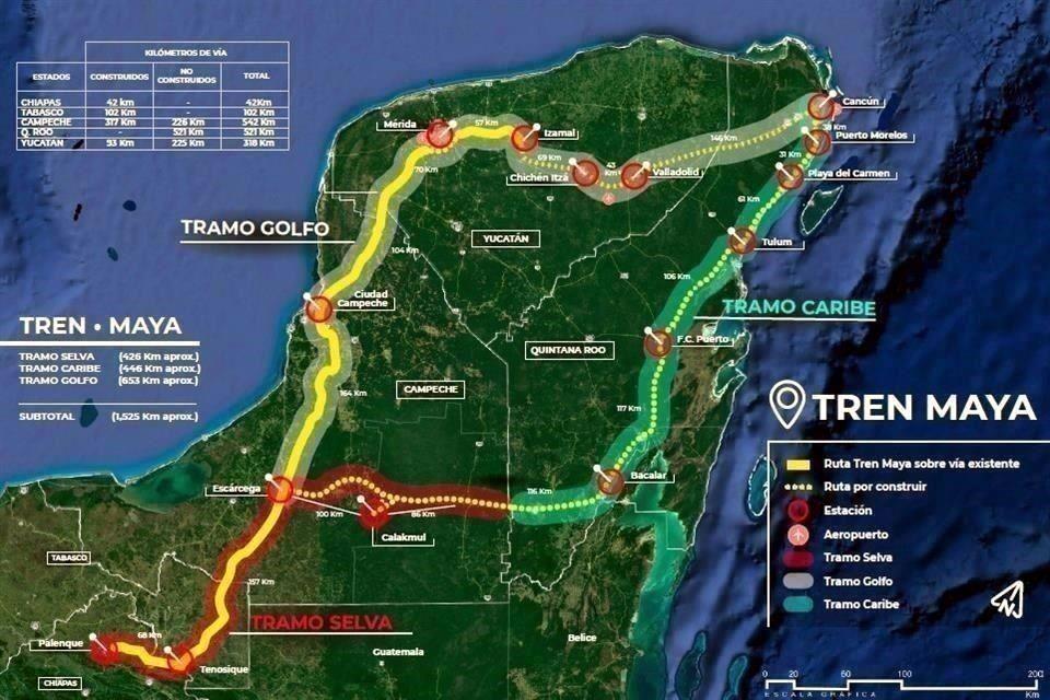 Será eléctrico 40% del Tren Maya - Luces del Siglo