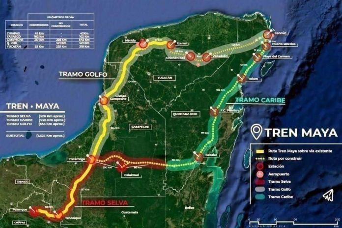 Burla Tren Maya la ley y el T-MEC