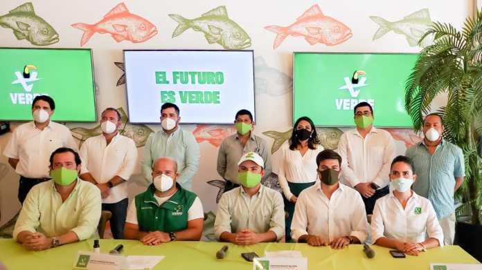 Partido Verde busca ser primera fuerza en la entidad