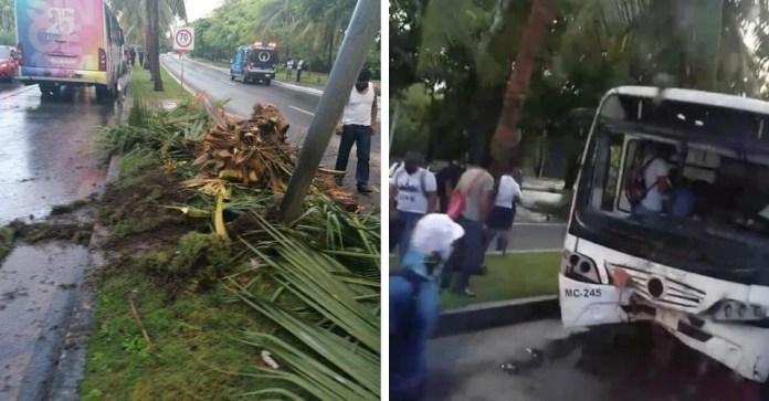Deja 10 lesionados camionazo en Zona Hotelera