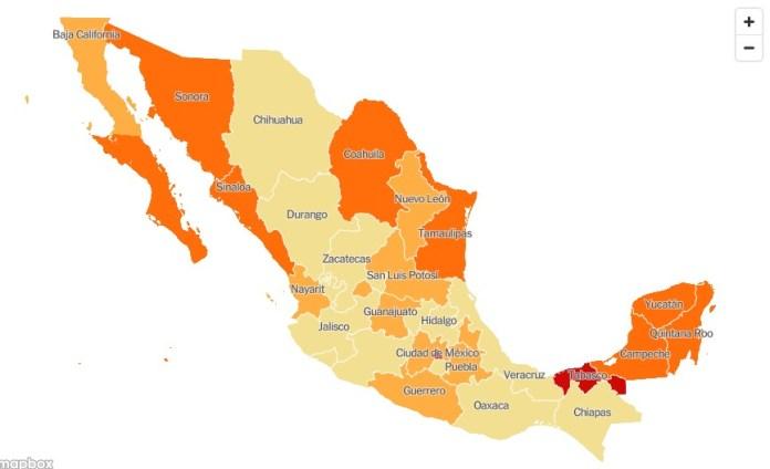 Quintana Roo, lugar 14 de contagios de Covid-19 en el País