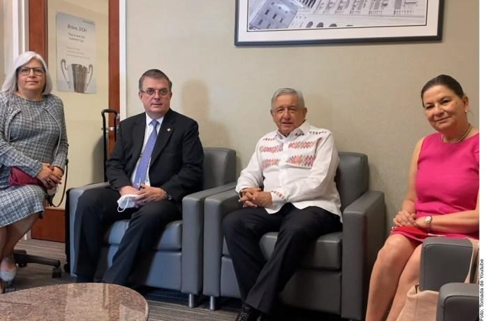 Visita fue corta, pero muy intensa.- López Obrador