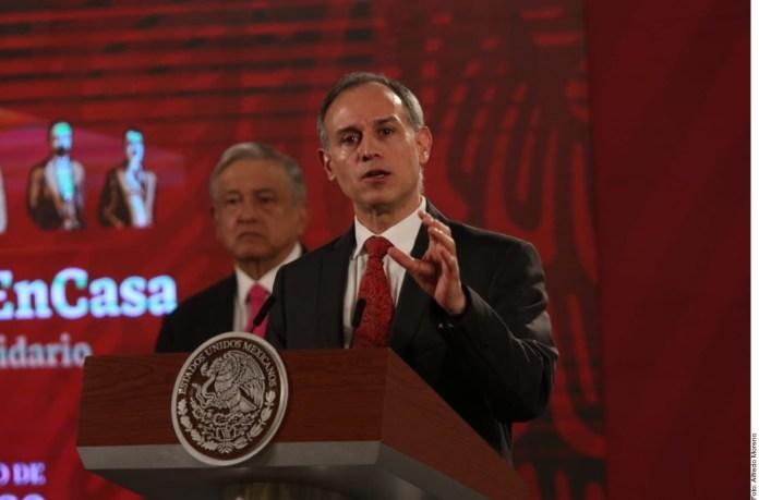Gobernadores panistas querían trato específico.- López-Gatell