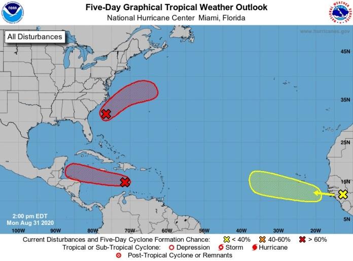 Vigilan probable sistema ciclónico en el Caribe