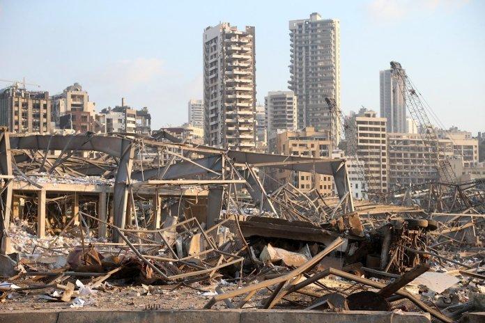 Dejaron explosiones desastre humanitario en Beirut