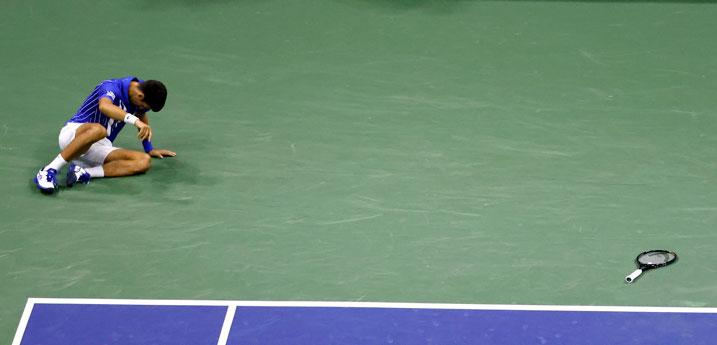Novak Djokovic es multado tras rabieta en la final de US Open; deberá pagar 5,000 dólares por actitud antideportiva