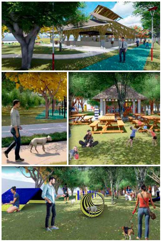 Parque de la Equidad, alista CJ preparativos