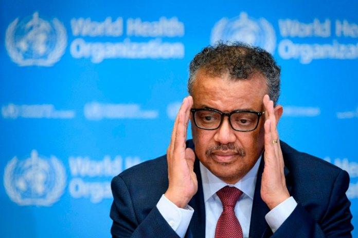 Tedros Adhanom, el director general de la OMS, hace todo lo que puede con poco apoyo internacional.