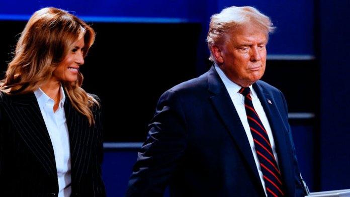 El show de Trump y Melania por contagio de Covid