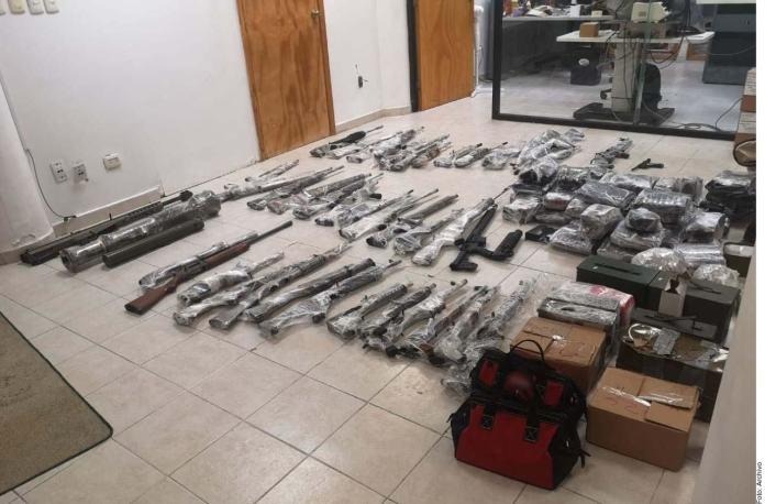 Inundó EU a México de fusiles calibre .50