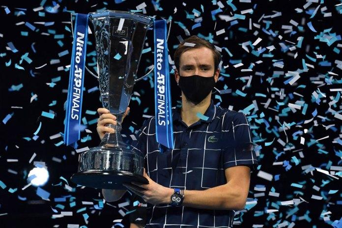 Medvedev, el campeón que no festeja