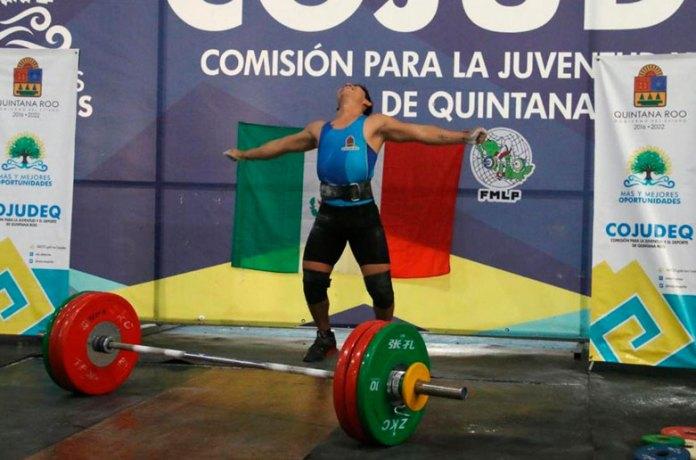 Pesista de Quintana Roo subcampeón panamericano Sub 20