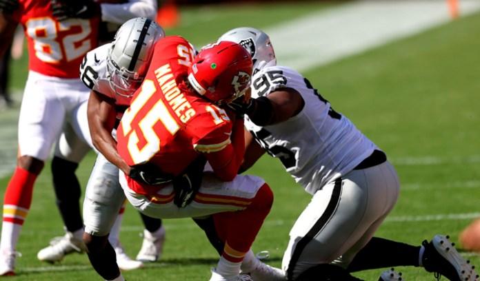Llegarán Raiders debilitados ante Chiefs