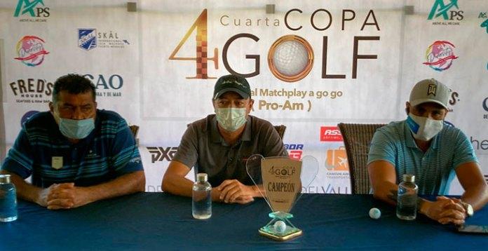 Competirán 128 golfistas en Copa especial