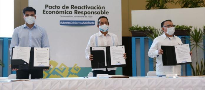 Pactan IPy Gobiernoreactivaciónresponsable