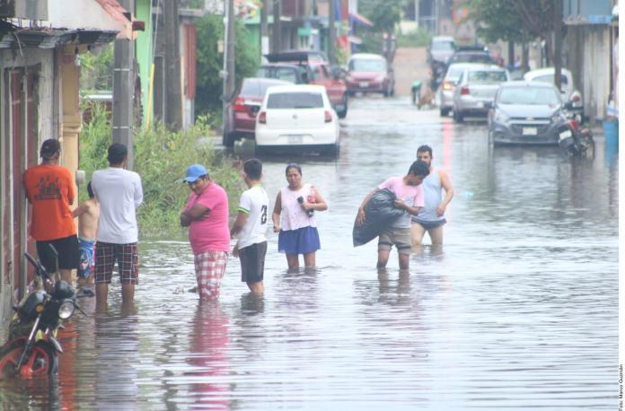 Una semana de lluvias; es la peor en 40 años...