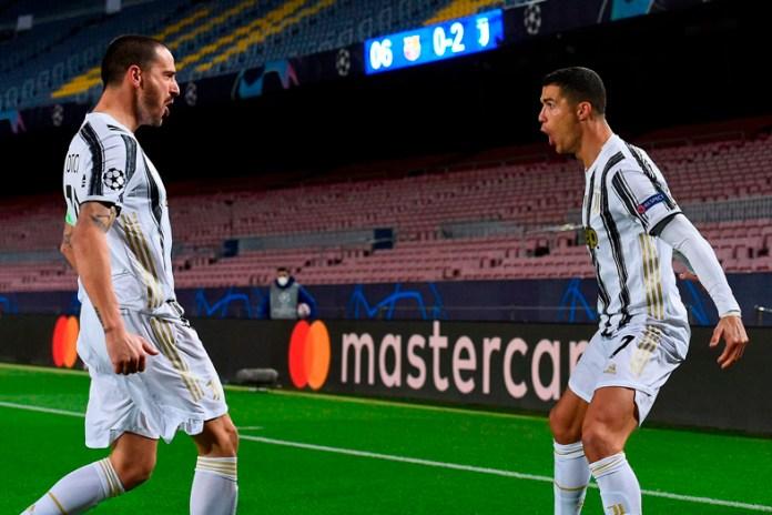 Golean Juventus y Cristiano al Barcelona