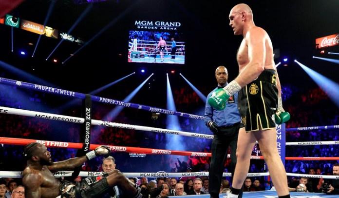 Amenaza Tyson Fury con noquear a Anthony Joshua
