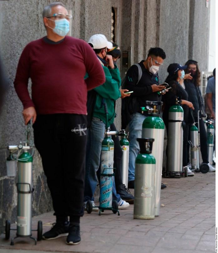 Verifica Profeco que no haya abuso en costo de tanques de oxígeno