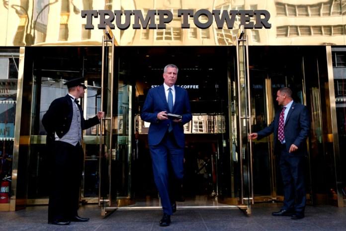 Romperá Nueva York contratos con Trump