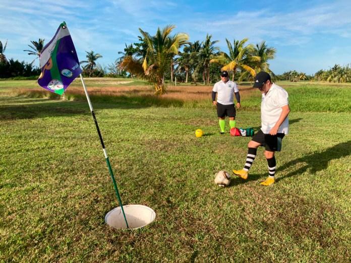 Gana Arturo Valdez Copa Poktapok de Footgolf