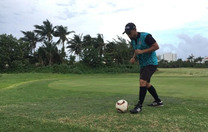 Debuta Piero Menor con victoria en Footgolf de Cancún