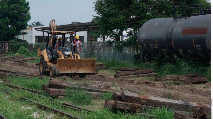 Acusan que obras del Tren Maya continúan