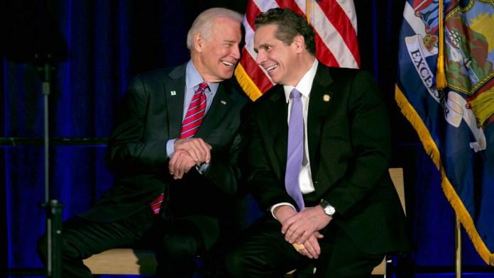 Considera Joe Biden la renuncia de Cuomo