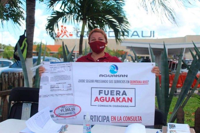 Auguran cancelación de contrato a Aguakan