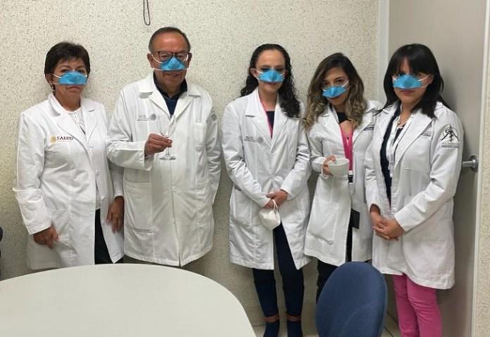 Crea IPN mascarilla nasal contra contagios de Covid