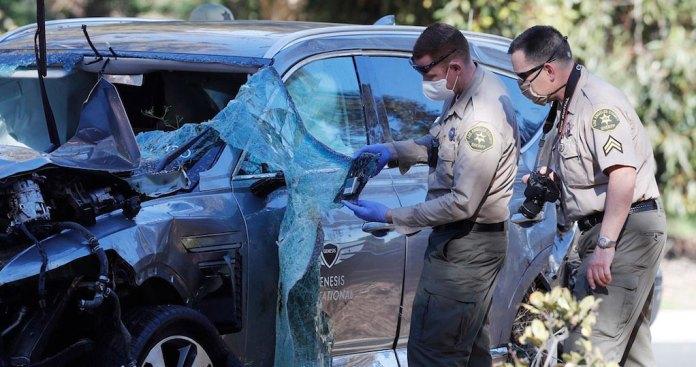 Woods no intentó frenar: Policía de Los Ángeles