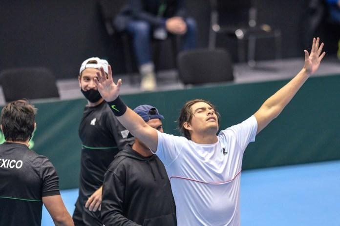 Vence México a Bulgaria en inicio de Copa Davis