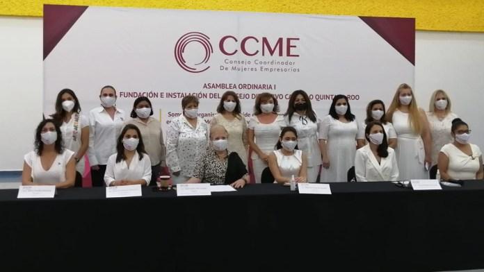 Presentan al Consejo Coordinador de Mujeres Empresarias de QR