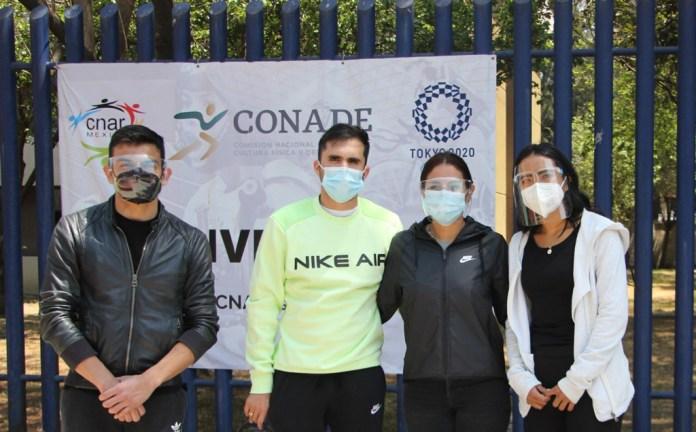 Avanza vacunación para atletas rumbo a Tokio